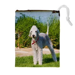 Bedlington Terrier Full Drawstring Pouches (Extra Large)