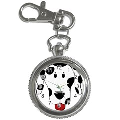 Dalmation cartoon head Key Chain Watches