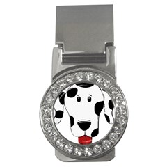 Dalmation cartoon head Money Clips (CZ)