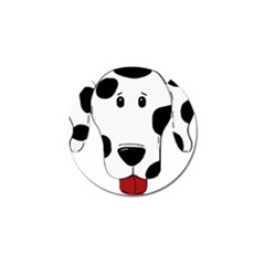 Dalmation cartoon head Golf Ball Marker (4 pack)