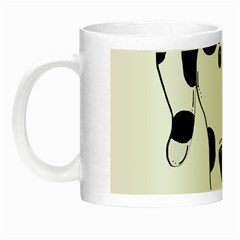 Dalmation cartoon head Night Luminous Mugs