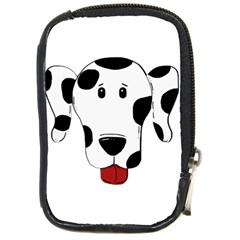 Dalmation cartoon head Compact Camera Cases