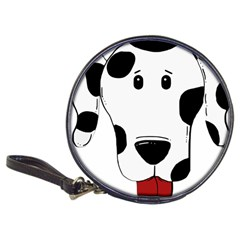 Dalmation cartoon head Classic 20-CD Wallets