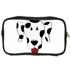 Dalmation cartoon head Toiletries Bags