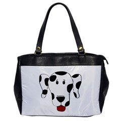 Dalmation cartoon head Office Handbags