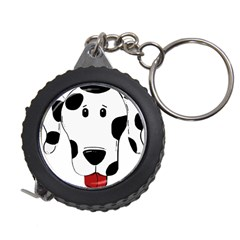 Dalmation cartoon head Measuring Tapes