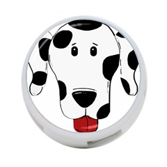Dalmation cartoon head 4-Port USB Hub (One Side)