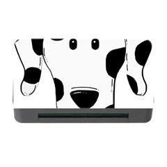 Dalmation cartoon head Memory Card Reader with CF