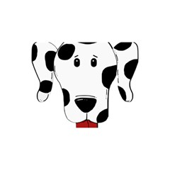 Dalmation cartoon head YOU ARE INVITED 3D Greeting Card (8x4)