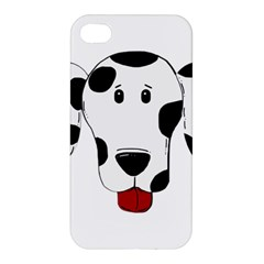 Dalmation cartoon head Apple iPhone 4/4S Hardshell Case