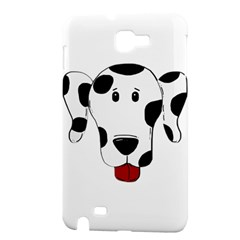 Dalmation cartoon head Samsung Galaxy Note 1 Hardshell Case