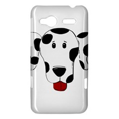 Dalmation cartoon head HTC Radar Hardshell Case