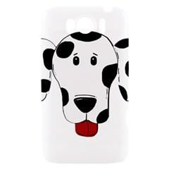 Dalmation cartoon head HTC Sensation XL Hardshell Case