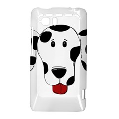 Dalmation cartoon head HTC Vivid / Raider 4G Hardshell Case