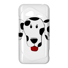 Dalmation cartoon head HTC Droid Incredible 4G LTE Hardshell Case