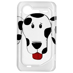 Dalmation cartoon head HTC Incredible S Hardshell Case