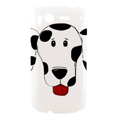 Dalmation cartoon head HTC Desire S Hardshell Case