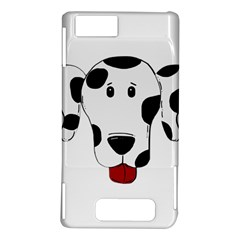 Dalmation cartoon head Motorola DROID X2