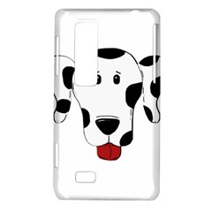 Dalmation cartoon head LG Optimus Thrill 4G P925