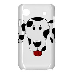 Dalmation cartoon head Samsung Galaxy SL i9003 Hardshell Case