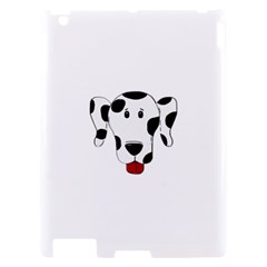Dalmation cartoon head Apple iPad 2 Hardshell Case
