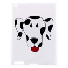 Dalmation cartoon head Apple iPad 3/4 Hardshell Case