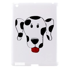 Dalmation cartoon head Apple iPad 3/4 Hardshell Case (Compatible with Smart Cover)