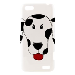 Dalmation cartoon head HTC One V Hardshell Case