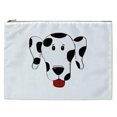 Dalmation cartoon head Cosmetic Bag (XXL)