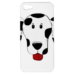 Dalmation cartoon head Apple iPhone 5 Hardshell Case