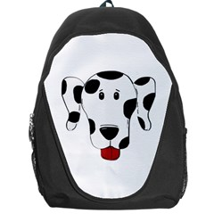 Dalmation cartoon head Backpack Bag
