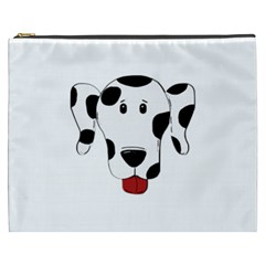 Dalmation cartoon head Cosmetic Bag (XXXL)