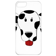Dalmation cartoon head Apple iPhone 5 Classic Hardshell Case
