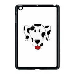 Dalmation cartoon head Apple iPad Mini Case (Black)