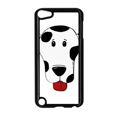 Dalmation cartoon head Apple iPod Touch 5 Case (Black)