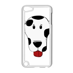Dalmation cartoon head Apple iPod Touch 5 Case (White)