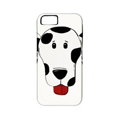 Dalmation cartoon head Apple iPhone 5 Classic Hardshell Case (PC+Silicone)