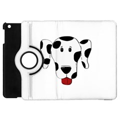 Dalmation cartoon head Apple iPad Mini Flip 360 Case