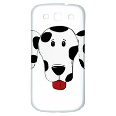 Dalmation cartoon head Samsung Galaxy S3 S III Classic Hardshell Back Case