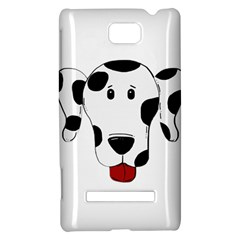 Dalmation cartoon head HTC 8S Hardshell Case