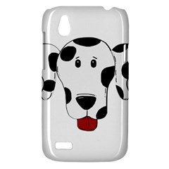 Dalmation cartoon head HTC Desire V (T328W) Hardshell Case