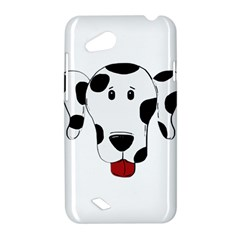 Dalmation cartoon head HTC Desire VC (T328D) Hardshell Case
