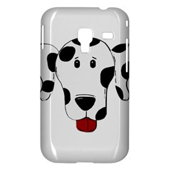Dalmation cartoon head Samsung Galaxy Ace Plus S7500 Hardshell Case