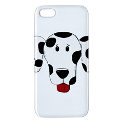 Dalmation cartoon head Apple iPhone 5 Premium Hardshell Case
