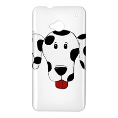 Dalmation cartoon head HTC One M7 Hardshell Case
