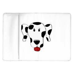 Dalmation cartoon head Samsung Galaxy Tab 10.1  P7500 Flip Case
