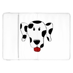 Dalmation cartoon head Samsung Galaxy Tab 8.9  P7300 Flip Case