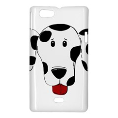 Dalmation cartoon head Sony Xperia Miro