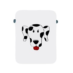 Dalmation cartoon head Apple iPad 2/3/4 Protective Soft Cases