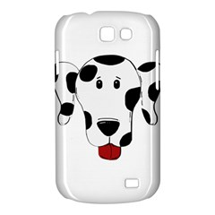 Dalmation cartoon head Samsung Galaxy Express I8730 Hardshell Case
